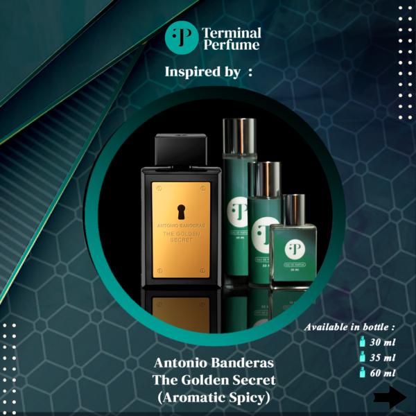 refill parfum - ANTONIO BANDERAS THE GOLDEN SECRET
