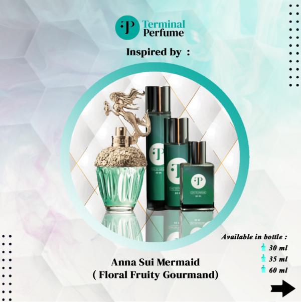 Anna Sui Mermaid - refill terminal perfume id 1