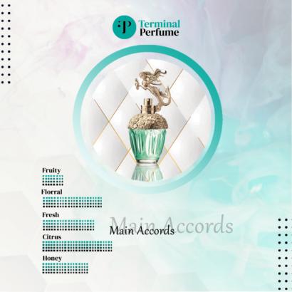 Anna Sui Mermaid - refill terminal perfume id 2