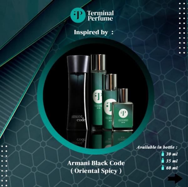 Refill Parfum - Armani Black Code