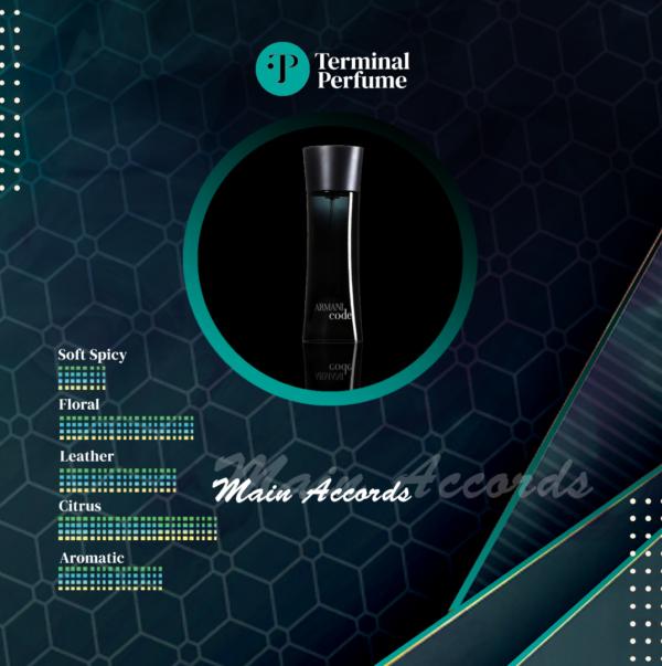 Refill Parfum Premium - Armani Black Code