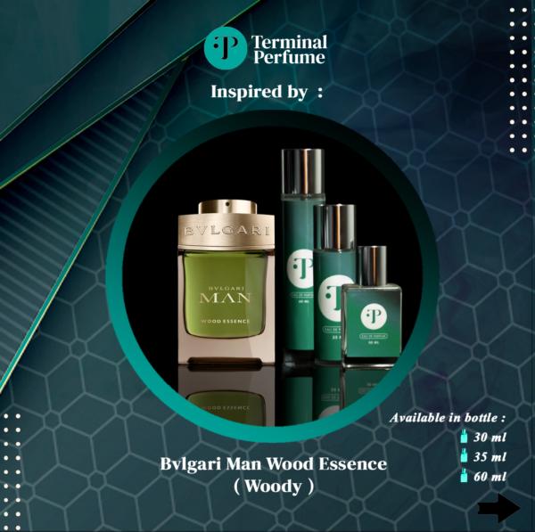 Refill Parfum - Bvlgari Man Wood Essence