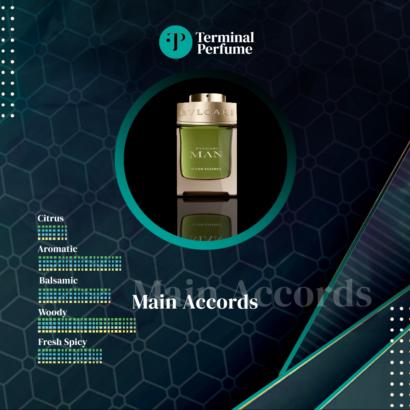 Refill Parfum Premium - Bvlgari Man Wood Essence