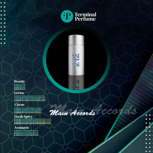 Refill Parfum Premium - Carolina Herrera 212 Men