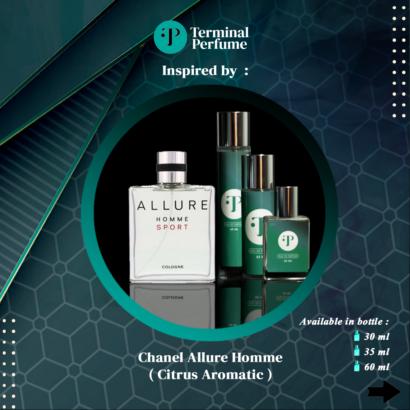 Refill Parfum - Chanel Allure Homme