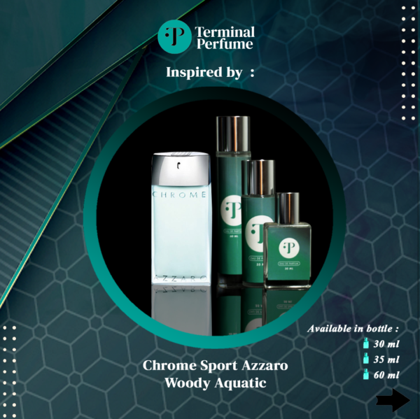 Refill Parfum - Chrome Sport Azzaro