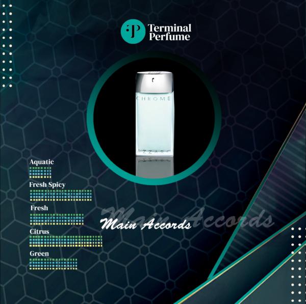 Refill Parfum Premium - Chrome Sport Azzaro