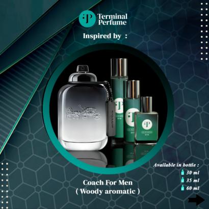 Refill Parfum - Coach For Men