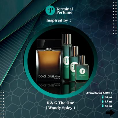 Refill Parfum - D & G The One