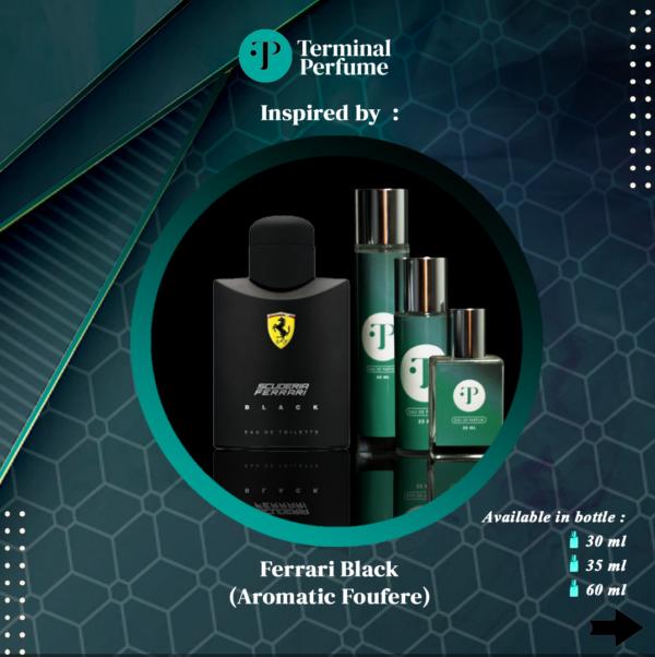 Refill Parfum - Ferrari Black