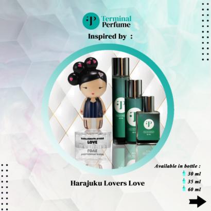Refill Parfum - Harajuku Lovers Love
