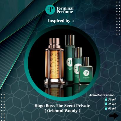 refill parfum - Hugo Boss The Scent Private