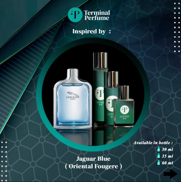 Refill Parfum - Jaguar Blue (Oriental Fougere)