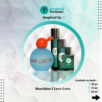 refill parfum bandung - refill parfum premium - refill parfum terbaik moschino i love love