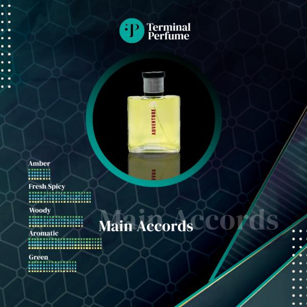Refill Parfum premium - Adidas Adventure Explorer