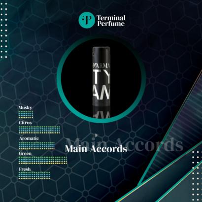 Refill Parfum Premium - Armani City Glam for Him