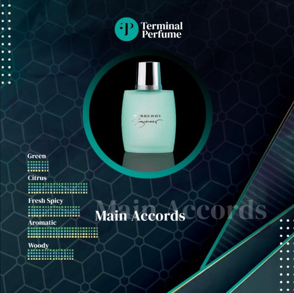 Refill Parfum Premium - Burberry Summer for Men