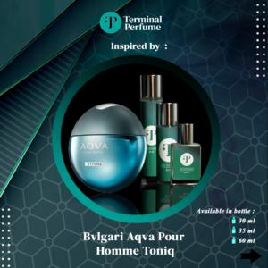 refill parfum - Bvlgari Aqva Pour Homme Toniq