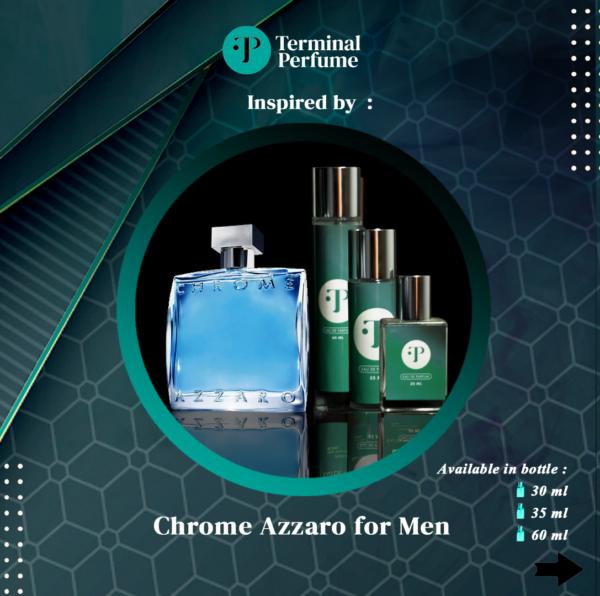 Refill Parfum - Chrome Azzaro for Men