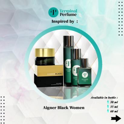 refill parfum - Aigner Black Women
