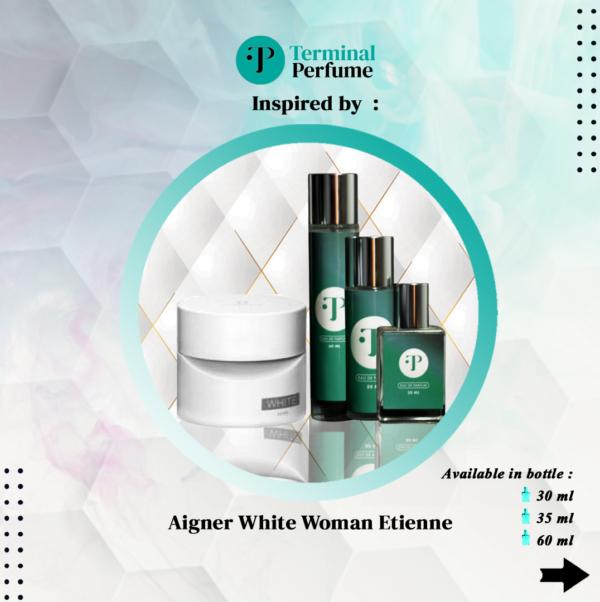 refill parfum - Aigner White Woman Etienne
