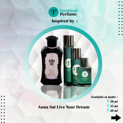 refill parfum - Anna Sui Live Your Dream