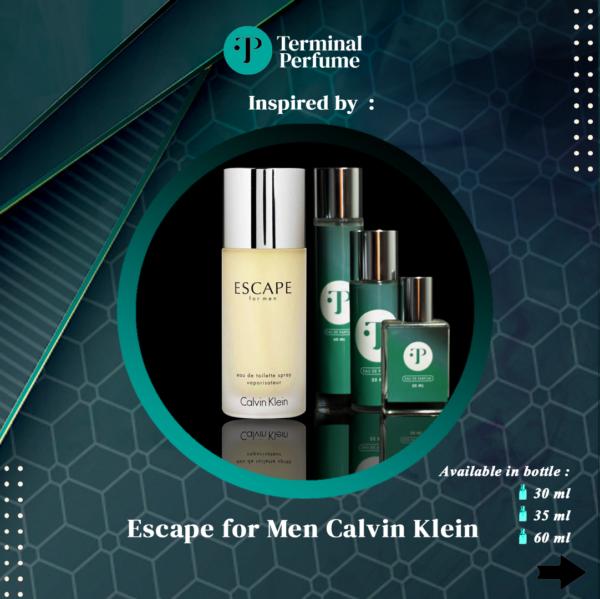 refill parfum - Escape for Men Calvin Klein