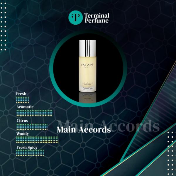 Parfum Refill - Escape for Men Calvin Klein