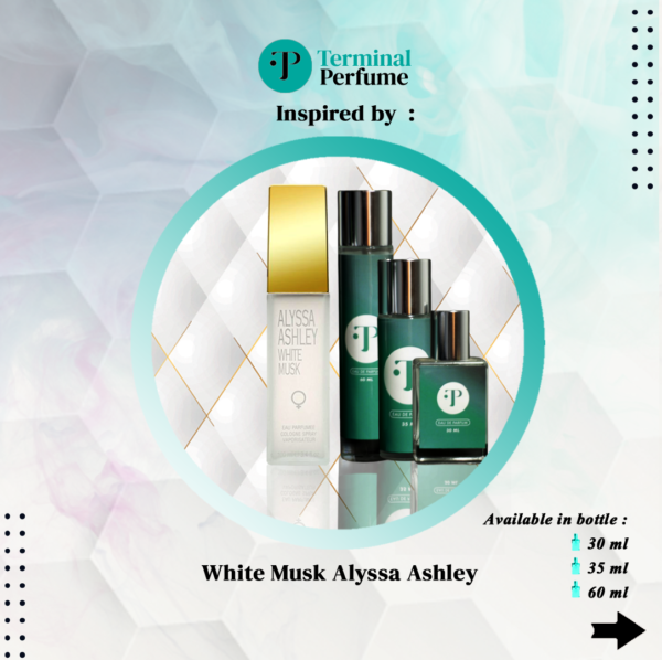 refill parfum - White Musk Alyssa Ashley
